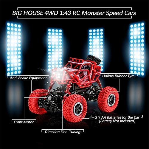 casa grande rc coche escala 143 eléctrico alta velocidad rc