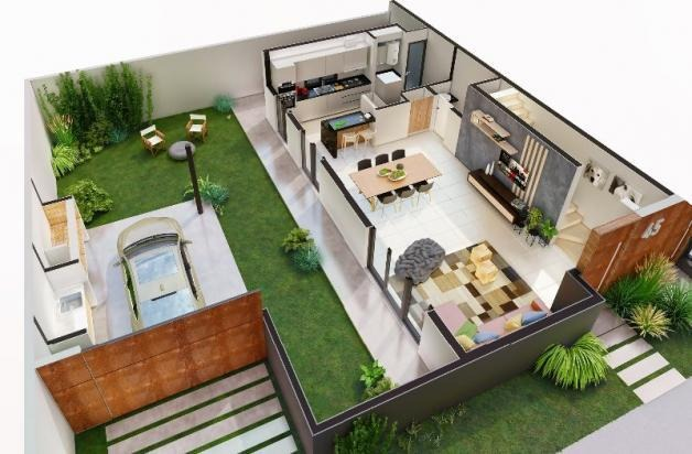 casa - green ville 2 - 3 dormitorios