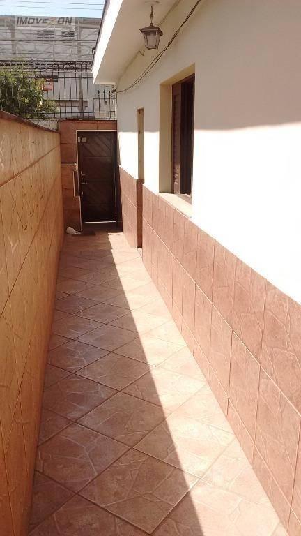 casa independente com 3 quartos, edicula nos fundos e amplo quintal, à venda, a 15 minutos andando da estação bresser mooca ! - ca0315