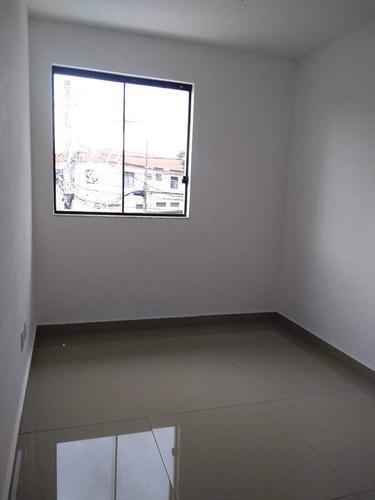 casa independente no bairro santa branca. 2 quartos 2 vagas com fino acabamento. - 2174