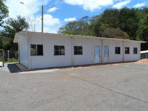 casa  industrial 100 m2 - 3 qtos - pre-fabricada