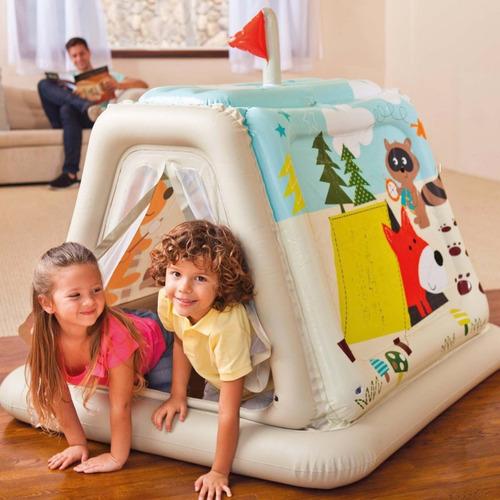 casa infantil inflable snow  intex