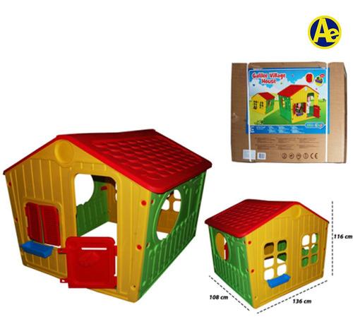 casa infantil para jardin medidas 140x108x115.5cm