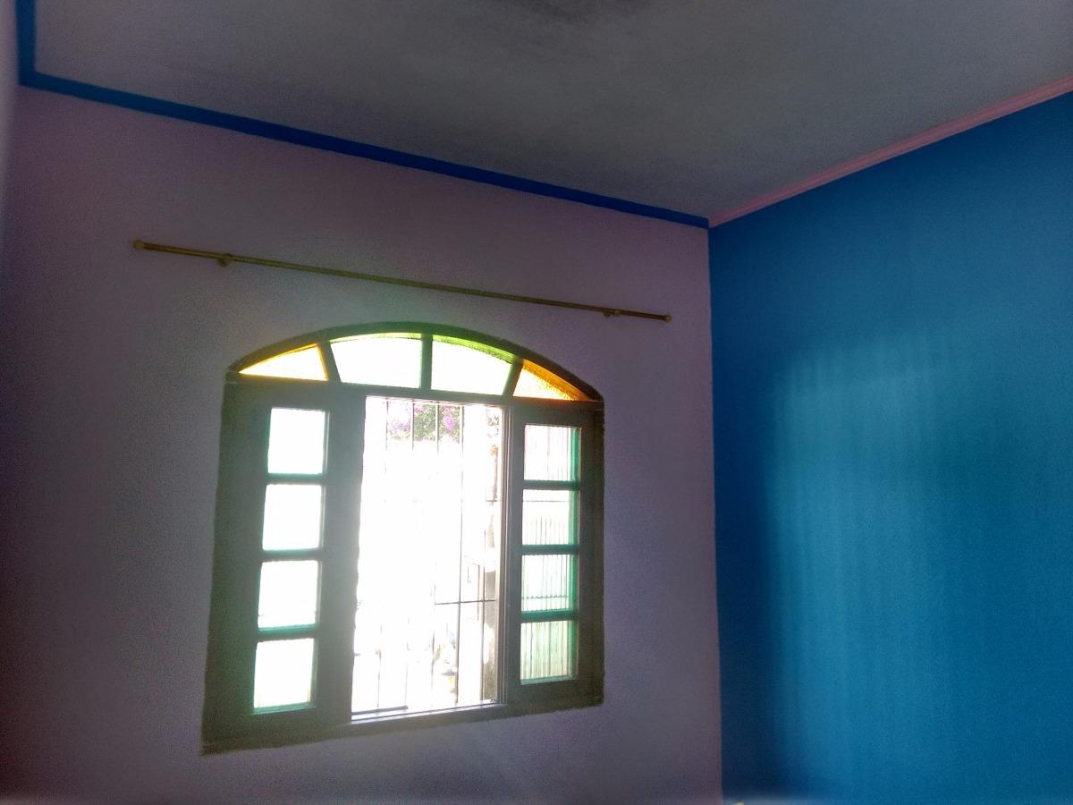 casa isolada 1 quarto, 3 gar, próx praia e mercd. r$ 170.mil