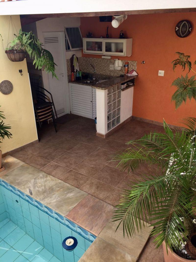 casa isolada com piscina - marapé - 666