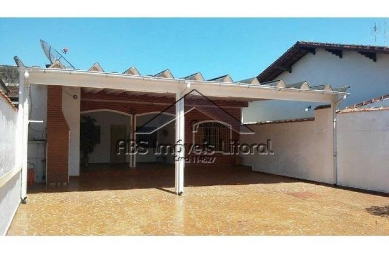 casa isolada vila mirim - praia grande - ca345