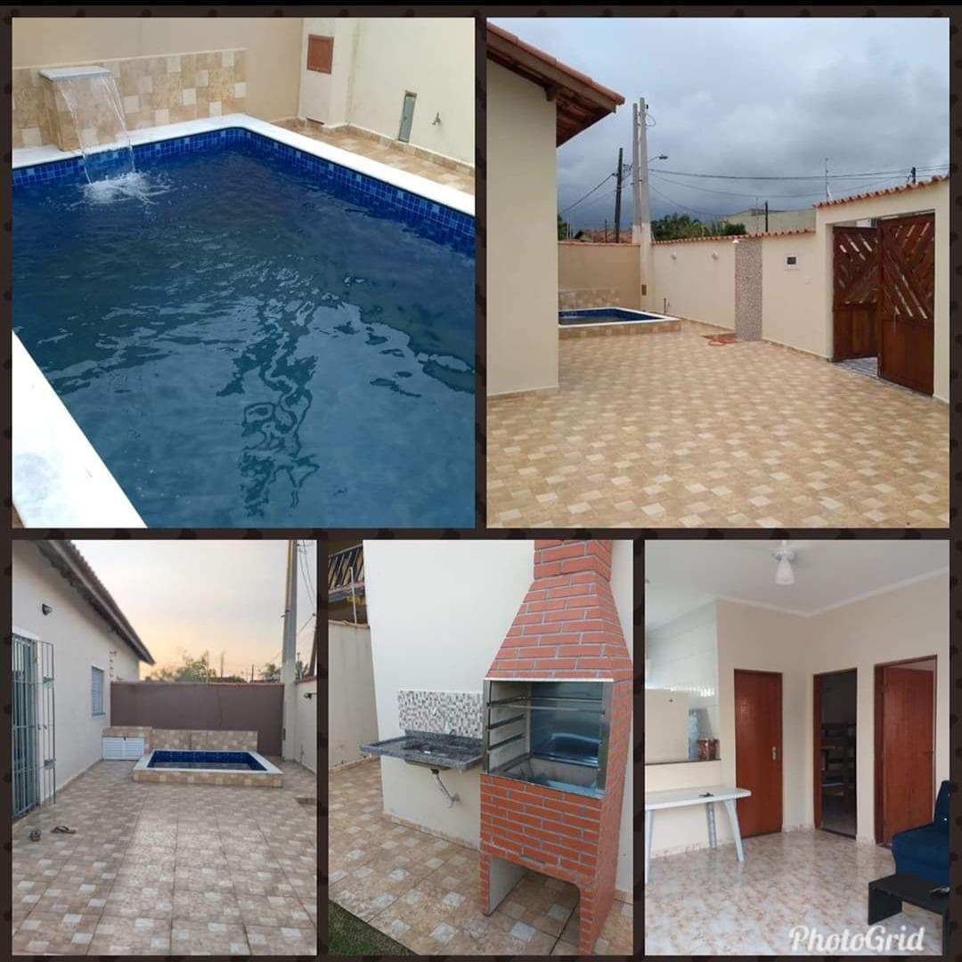 casa itanhaém com piscina.