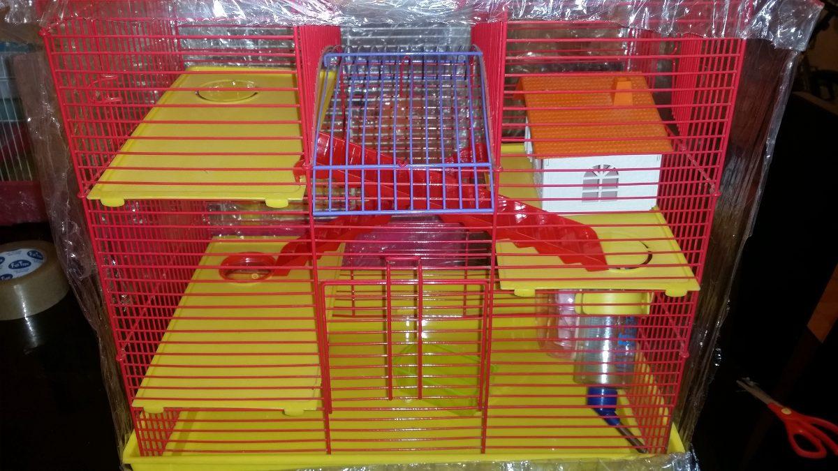 Casa Jaula Para Hamster O Ratones Tamaño Grande - S/ 130,00 en ...
