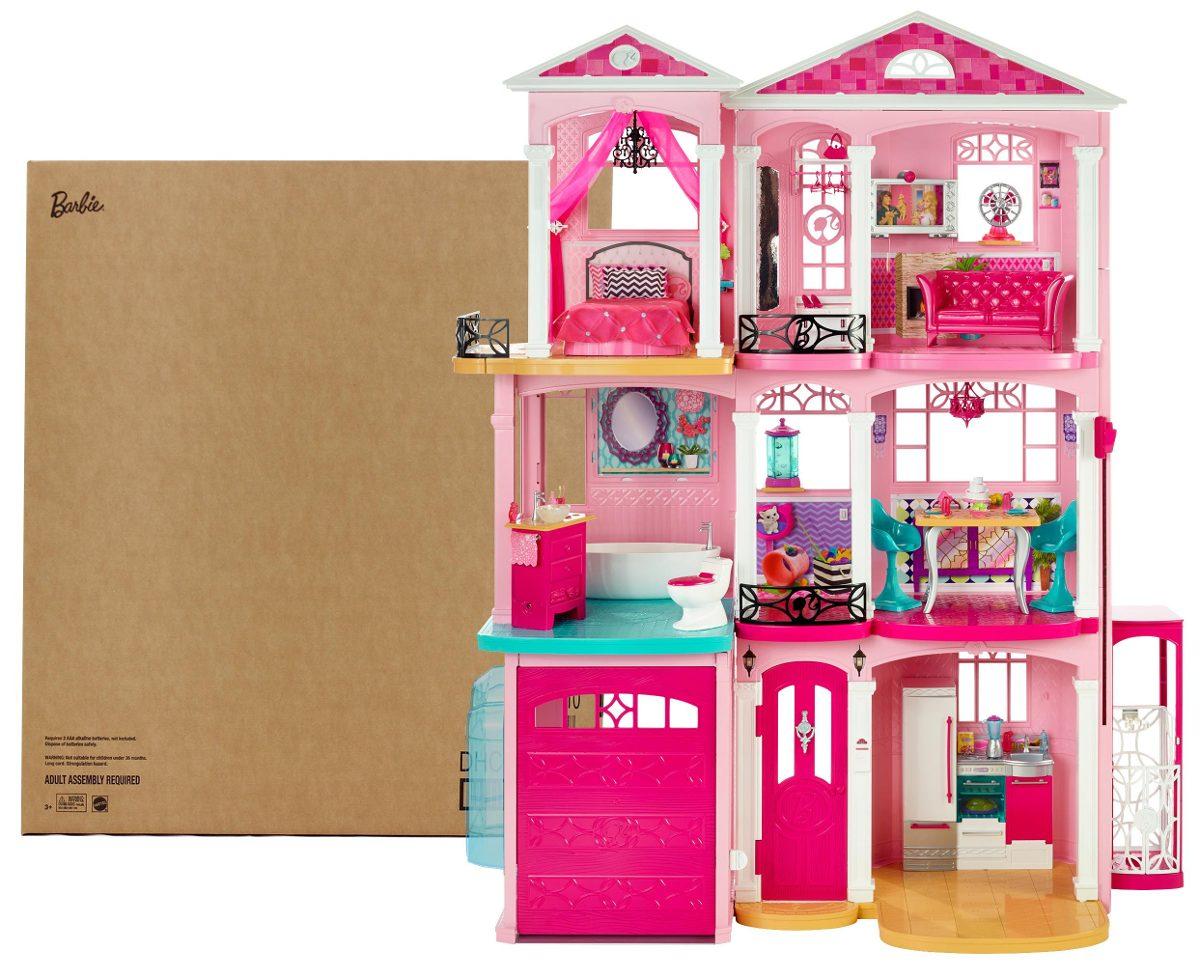 Barbie dreamhouse casa de los sue os juguete ni as envio - Casa de los juguetes ...