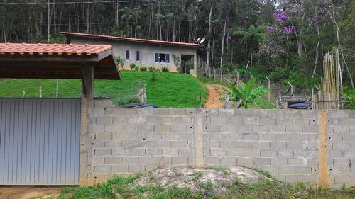 casa-  juquitiba / 2 dormitórios / 1 km da br. ref: ca00020