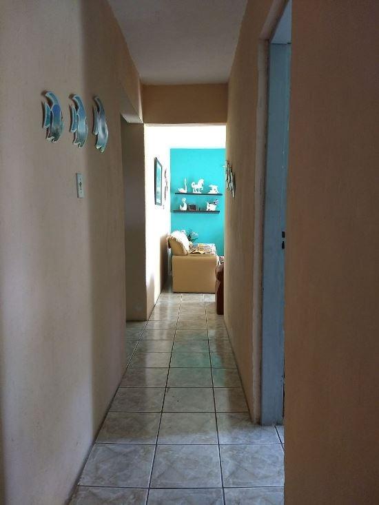 casa lado praia, 2 quartos, próx. centro comercial, visite!