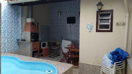casa lado praia com piscina, 2 quartos, 700m do mar!