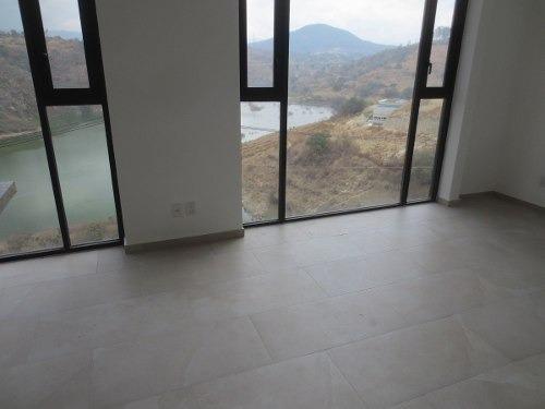 casa lago esmeralda, vista a presa madin