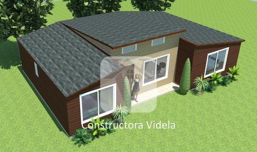 casa llaves en mano construcción prefabricada 96 m2