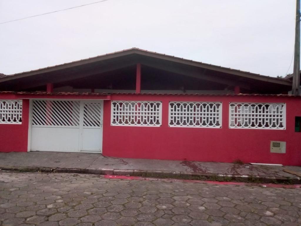 casa locação definitiva em itanhaém praia do sonho, com 4 dormitórios por r$1800,00 - ca00104 - 34633538