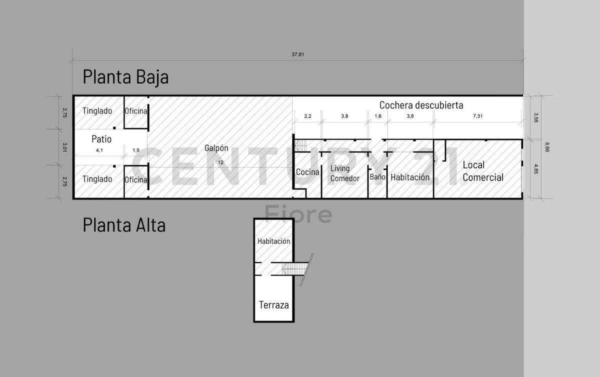 casa + local + galpon + oficinas - oportunidad para negocio y vivienda