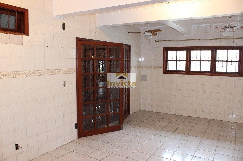 casa localizada no centro de viamao, semi-mobiliad - v-26