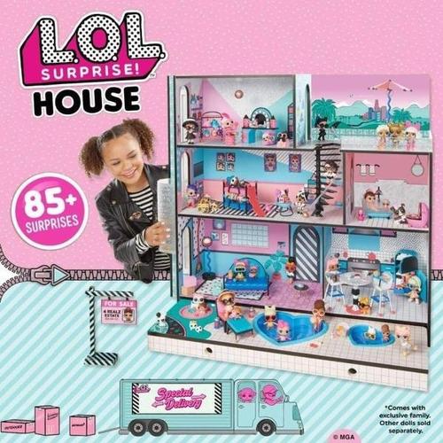 casa lol surprise 100% original casa de muñecas