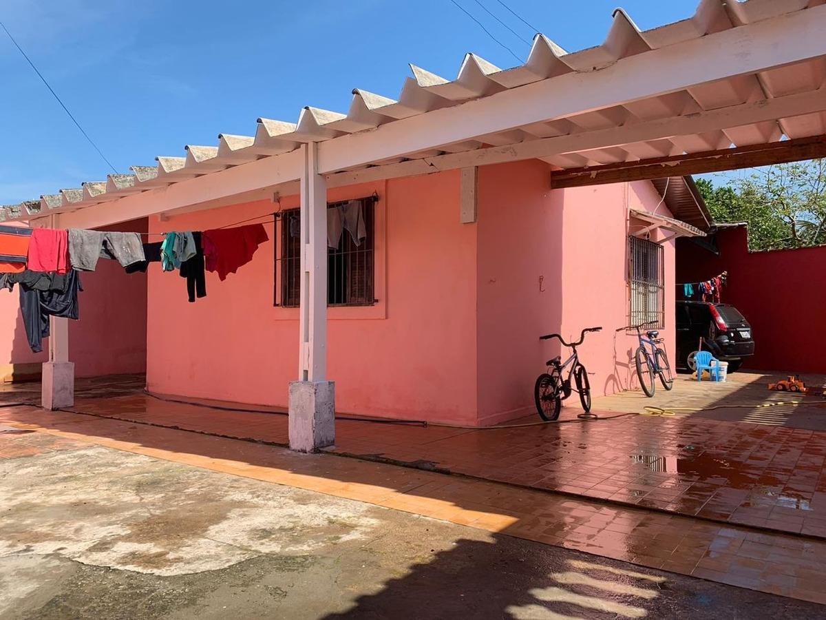 casa lote inteiro lado praia em mongaguá