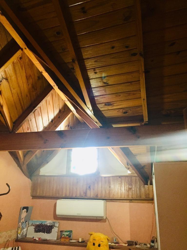 casa  luminosa, 3 dorm, cochera, con patio y parrilla