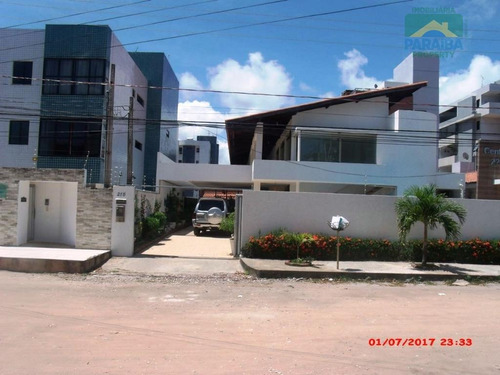 casa luxo à venda - praia de intermares - cabedelo - pb - ca0192