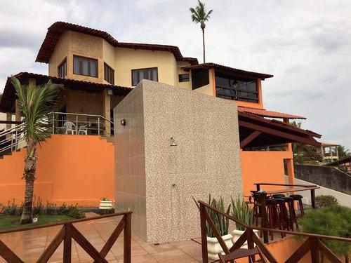 casa luxo à venda - praia de tabatinga - conde - pb - ca0106