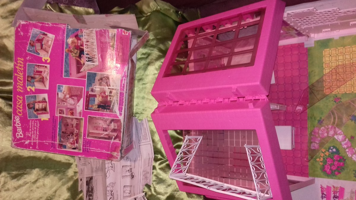 Casa di barbie vintage decorazioni per la casa for Casa di barbie youtube