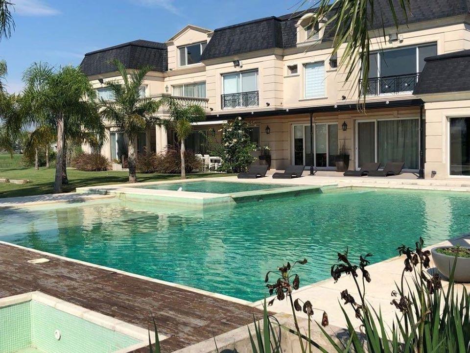 casa-mansión 6-8 amb-se toma propiedad en parte pago-b° lagos de san eliseo-san vicente