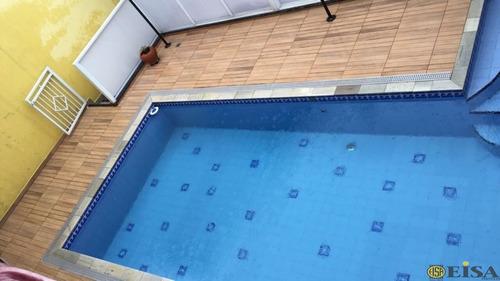 casa maravilhosa com piscina aquecida - 200 metros do parque do carmo - ej4607