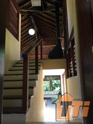 casa maravilhosa estilo balinês em itamambuca - 21939p