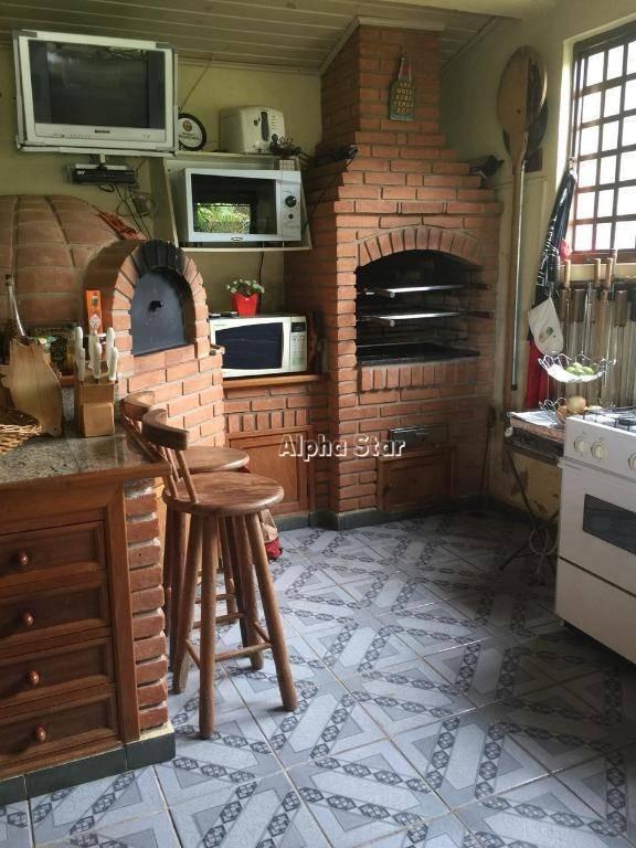 casa maravilhosa, natureza conservada, venda - alto do paião - guararema/sp - ch0019