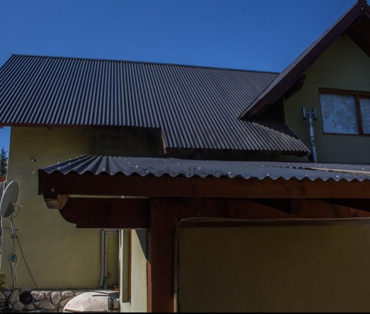 casa más cabaña, ideal para vivienda y renta, villa la angostura