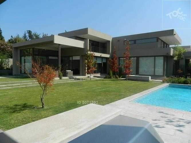 casa mediterránea interior condominio jardín la dehesa