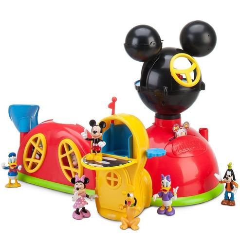casa mickey mouse club house con luz y sonido disney store.