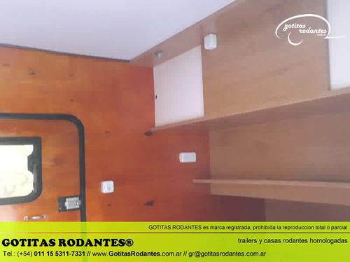 casa mini rodante gotita rodante big 5p homologada lcm