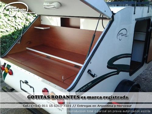 casa mini rodante gotita rodante eco 2/3p cocina financiada