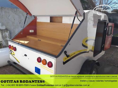 casa mini rodante gotita rodante eco homologada lcm