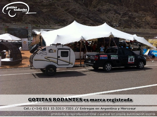 casa mini rodante gotita rodante egg cerrada financiada