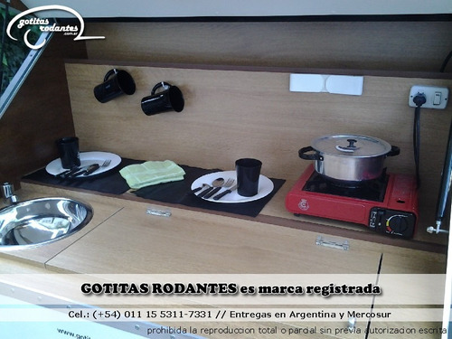 casa mini rodante gotita rodante full con cocina financiada
