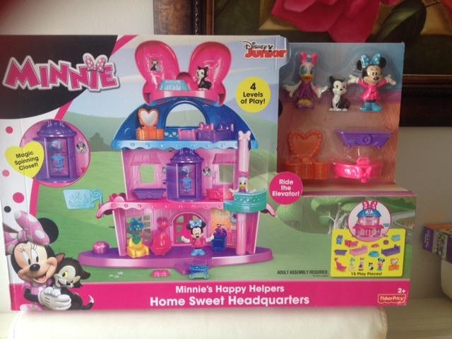 Casa Minnie Mouse Fisher Price - $ 250.000 en Mercado Libre