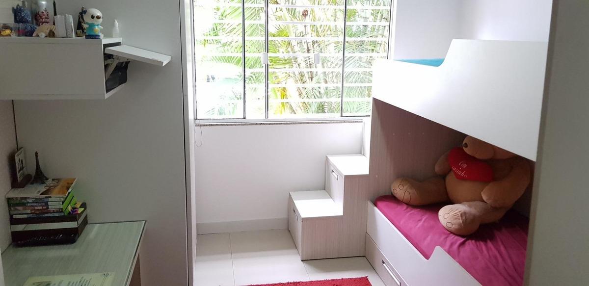 casa mobiliada 2 dormitórios porcelanato rebaixo em gesso no são sebastião palhoça - ca0087