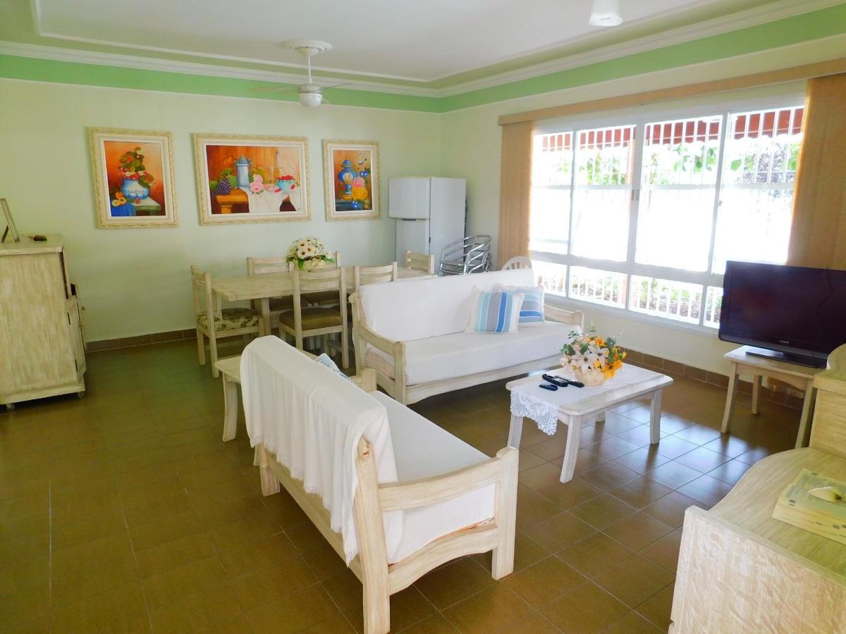 casa mobiliada bairro nobre a venda na praia de peruíbe