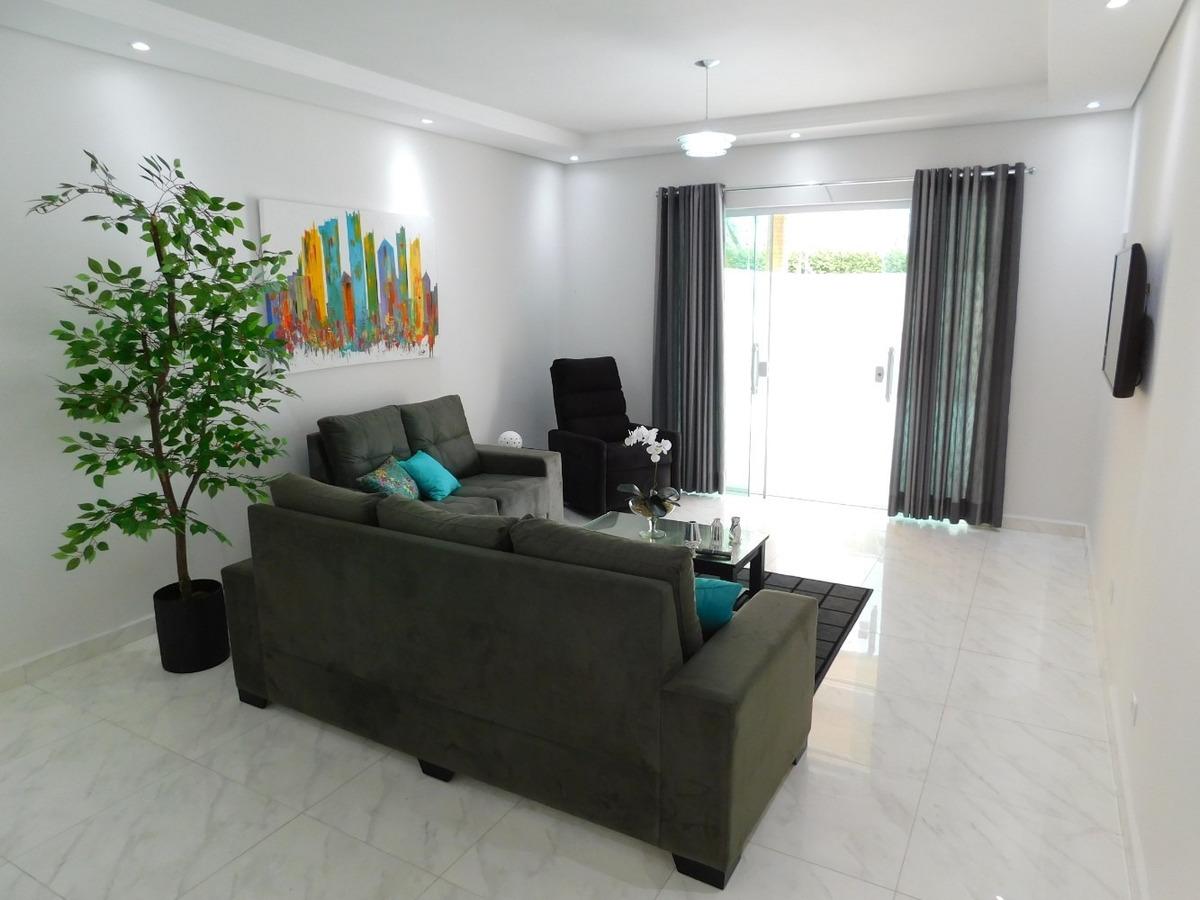 casa mobiliada com piscina à venda na praia de peruíbe.