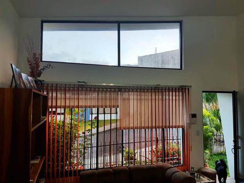 casa moderna, 3 cuartos, acceso privado plaza lincoln-tibás