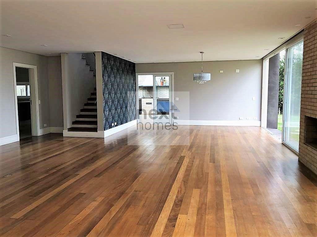 casa moderna em condomínio - vista panorâmica - 4 suítes, piscina - nh32360