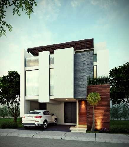 casa moderna en venta en parque quintana roo, lomas de angelopolis.