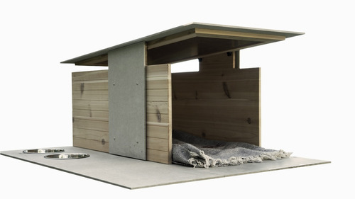 casa moderna minimalista para perro