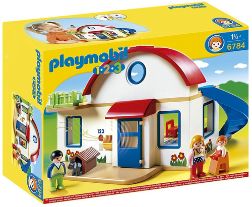 casa moderna playmobil 1.2.3   r3421