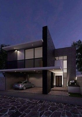 casa moderna por puentecillas