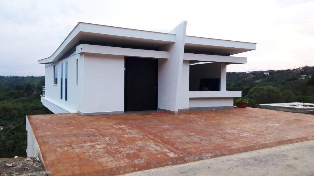 casa moderna, tres pisos, jamundi